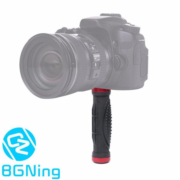 SLR DSLR Kamera Gummigriff Stativ Halter Kleine Handheld Stabilisator Blitzhalterung Kit mit 1/4 Schraubenloch Fotografie Zubehör