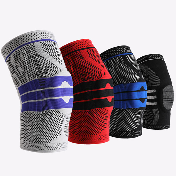 1 pcs Sports climbing volleyball spring antiskid knee pads travel Knee Support Damping Basketball knee guards