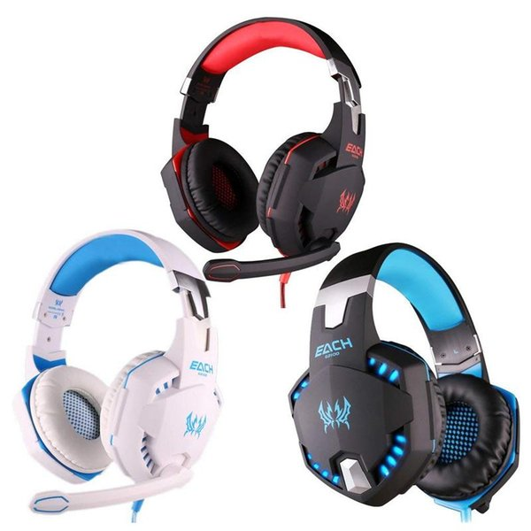 New Stereo Gaming Headset Over Ear Headphones with Mic Bass Vibration Noise Reduction Surround Sound and Volume Control for PC PS4 Xbox One