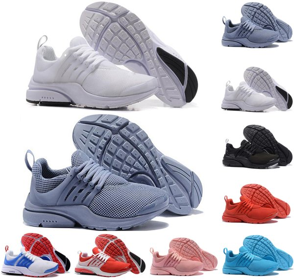 New men running shoes presto run Triple black white yellow Red Light blue Oreo Cheap Women Mens Sneakers casual Sports Shoe trainers