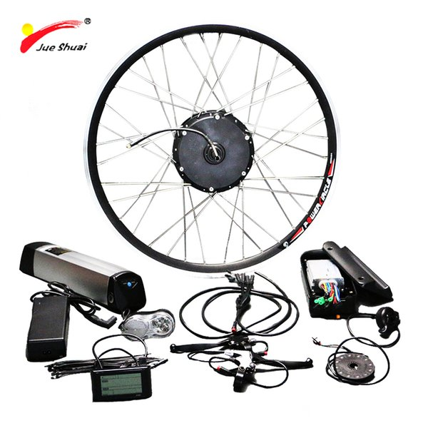 Free Shipping Electric Bike Conversion Kit With 36V 12ah Lithium Battery 36V 500W Wheel Motor For Bicycle Ebike Electric Bike
