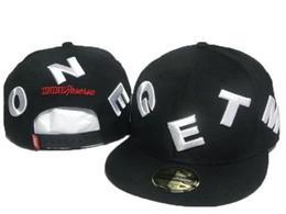 Siyah d9 dnine rezerv yün süper kalite moda hiphop sokak şapkaları yaz bahar snapback kap erkekler rahat ayarlanabilir beyzbol kapaklar