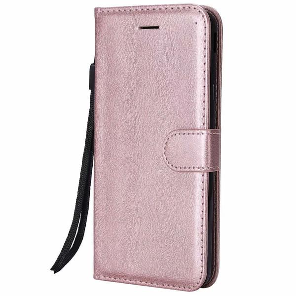 Бумажник чехол для Samsung Galaxy J7 2018 США версия откидная задняя крышка чистый цвет искусственная кожа мобильный телефон сумки Коке Fundas