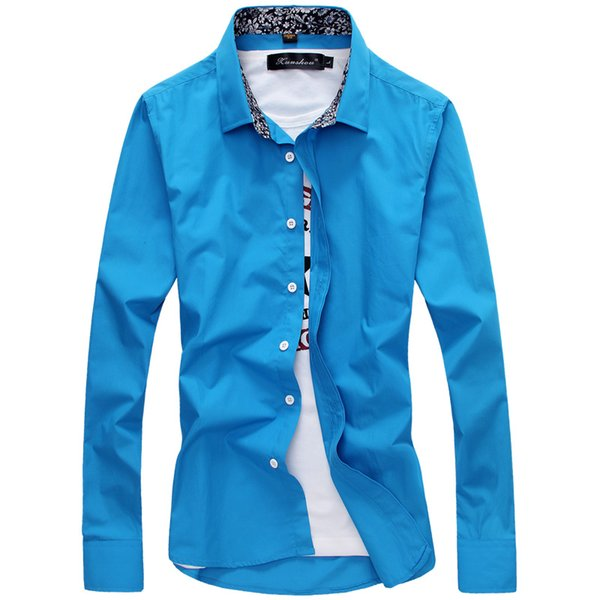MarKyi hombres ropa 2017 camisa masculina floral manga larga casual slim fit más el tamaño 5xl camisas de vestir para hombre ropa masculina barata