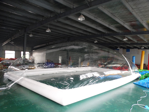 2019 Customized Transparent Inflatable Pool Cover Children/Family Swimming  Pool Cover From Inflatable886, $1658.3 | DHgate.Com