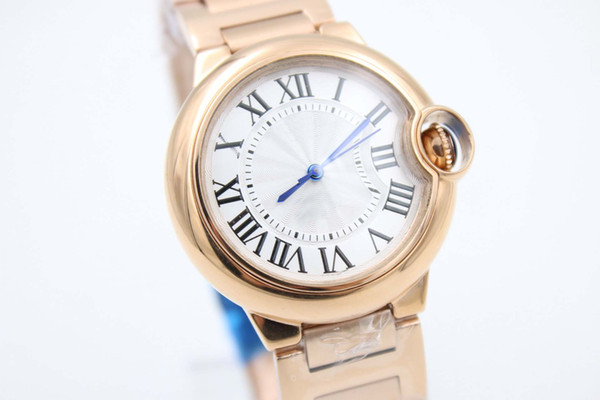 Factory sales hot caliber fashion high quality automatic 18K classic men AAAA rose gold watch free delivery