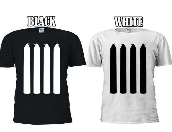 Four Candles Fork Handle The Two Ron T-shirt Baseball Vest Men Women Unisex 2662