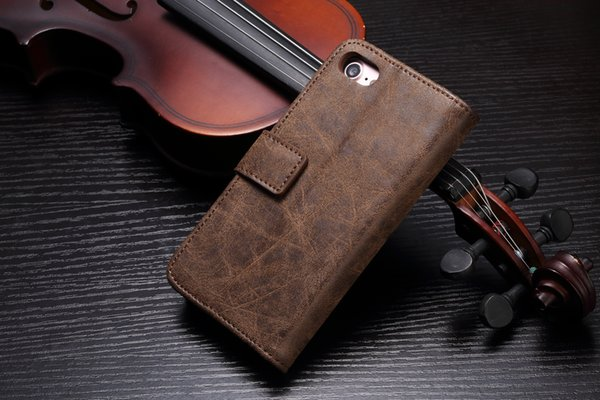 For iPhone 5 6 7 8 9 X Plus Premium Leather Folio Case Wallet Magnetic Purse Flip Multiple Card Slots Fly Bird Phone Case
