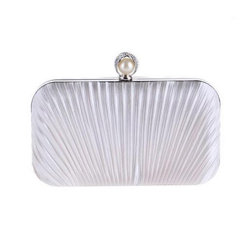 kingsons Luxury Diamond Gold Evening Bags Peacock Silver Clutch Crystal beaded Evening Clutch rings wedding party purse