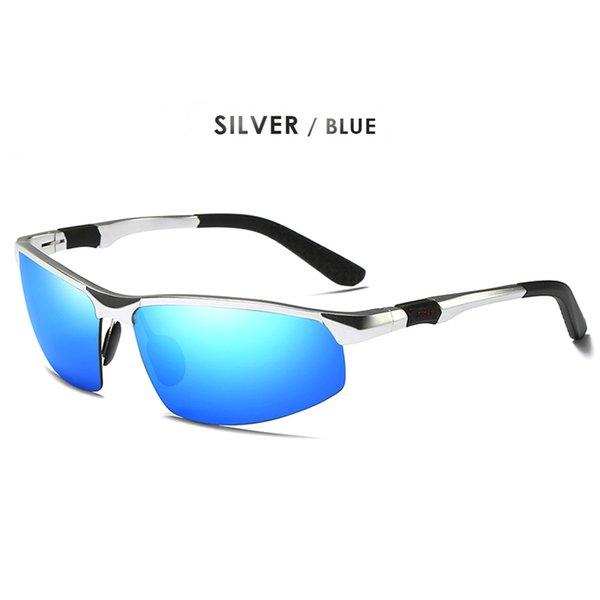Silver-синий