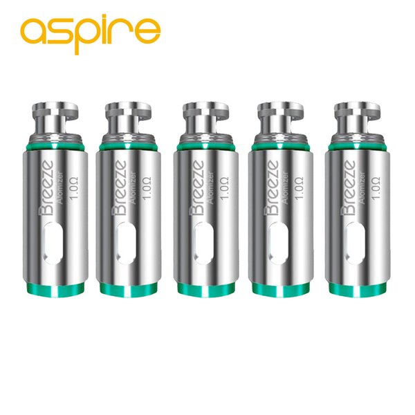 Breeze 2 Resistenze Coil Head 0.6ohm 1.2ohm 1.0ohm 5PCS Aspire Breeze