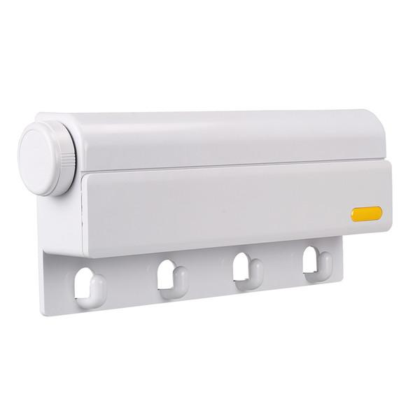 Wholesale Brand New 1 PCS 4 lines Adjustable Towel Bathroom Shower Shelf Storage Rack Organizer Household,white color