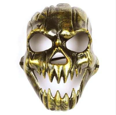 6 Pcs Masks Scary Horror Antique Ghost Mask Skeleton Masks Head Mask Skull Masks for Easter Cosplay Halloween