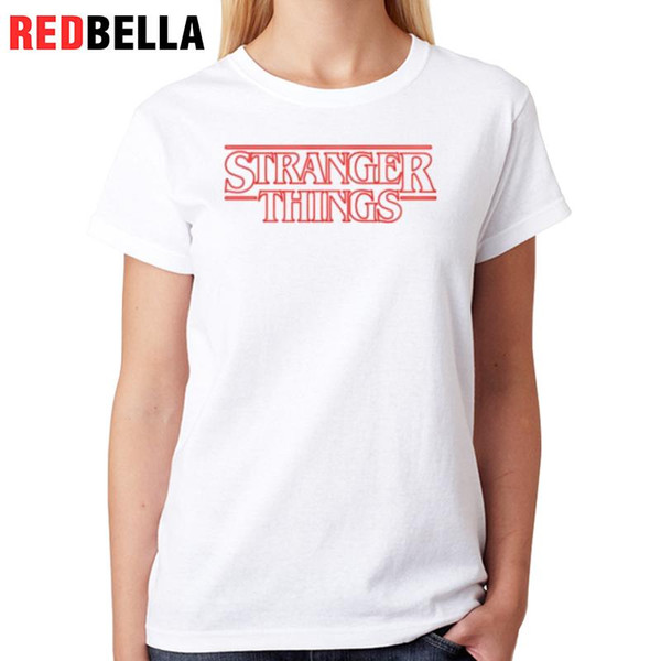Women's Tee Redbella Women T Shirt Harajuku Printed Letters Simple White Cotton T-shirt Vintage Casual Manga Curta Womens Clothing For Sale