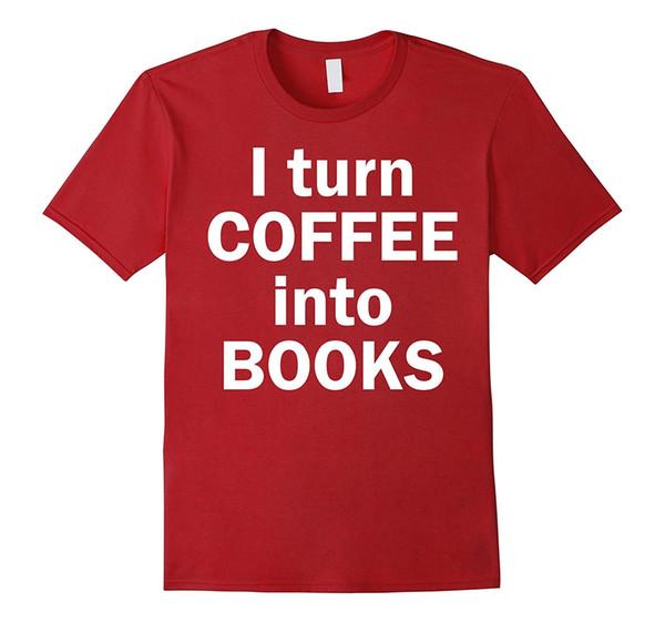 I Turn Coffee Into Books Shirt , Author Writer Tee