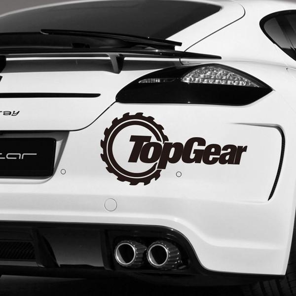 Araba Kelime Sticker Totem Üst Dişli Su Geçirmez Çıkartması Solmaya dayanıklı Motosiklet SUV'lar Tampon Araba Pencere Araba Styling Vinil Çıkartmaları