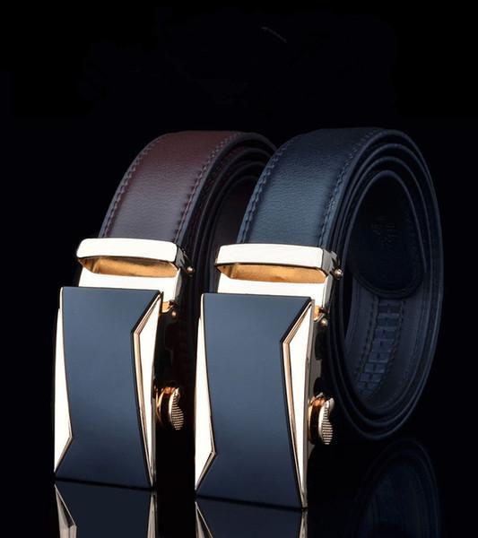 men fashion degree of fashion irregular shape type decoration leather waist belt mental belt automatic buckle belt for suit