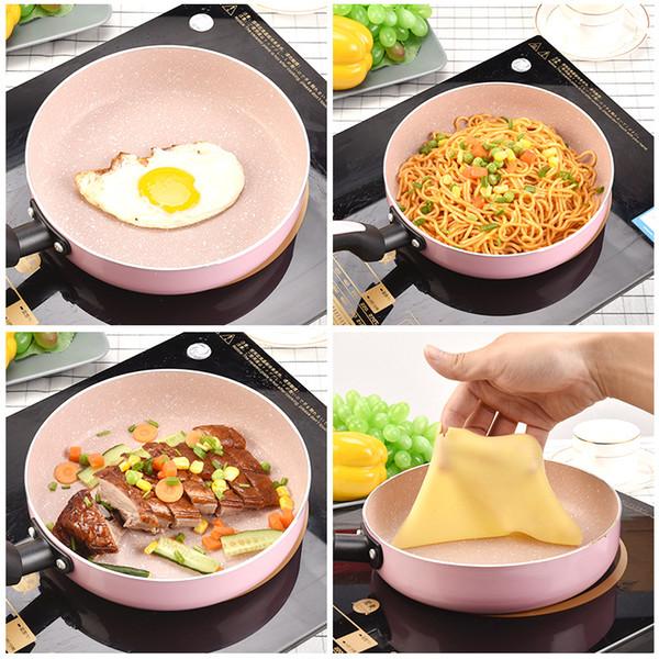 Japanese 20cm Non -Stick Frying Pan Pancake Pan Frying Egg Pan Maifanite Coating