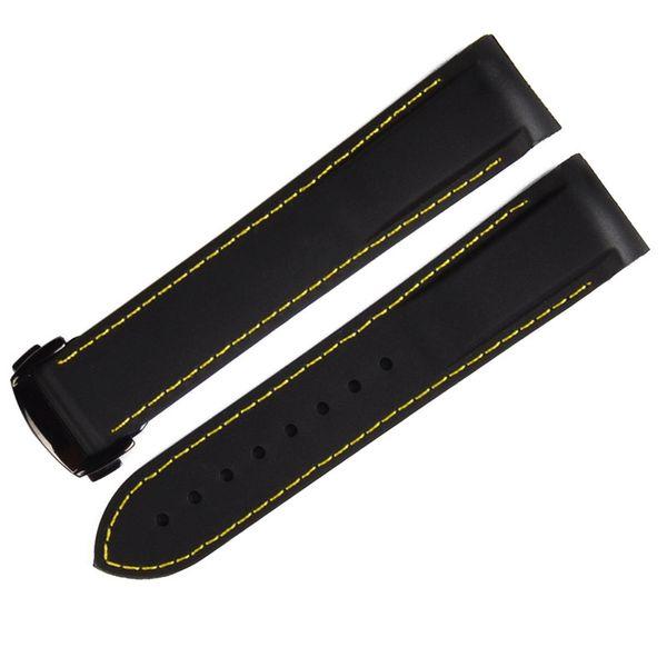 Black yellow 22mm