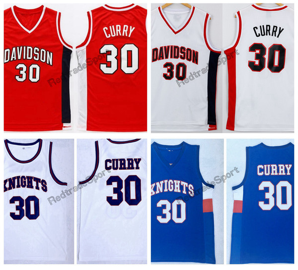 a97a3ddfc74e Mens Davidson Wildcat Stephen Curry 30 College Basketball Jersey Cheap Knights  Stephen Curry Charlotte Christian High