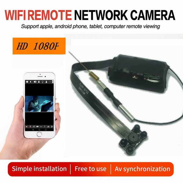 New IR Night Version Build-in Battery WIFI Module Camera CCTV H.264 Video Recorder 30PFS Mini Camera HD 1080P Mini DV PC webcam