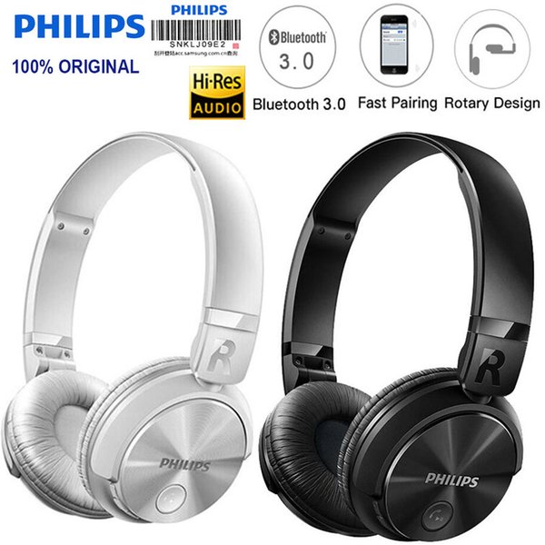 c5d2e00cc49 Philips SHB3060 Wireless Earphone with Micro USB Lithium Battery 11 Hours  Music Time for Iphone X