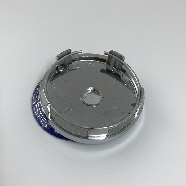 best selling 60mm 5pin chrome base blue Wheel Center hub Cap sticker Car Rims Emblem UN02 for benz for Universal Rim