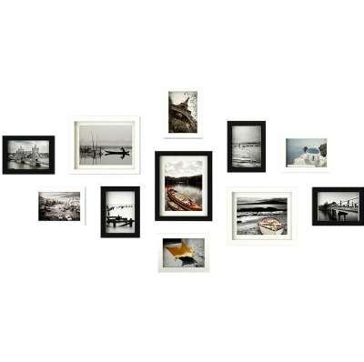 11pcs/Lot Wooden Multi Photo Frame Picture Frames Wall Hang Collage Black & White Set Wall Decoration Accessories