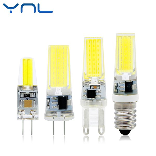 YNL Mini LED Lamp G4 G9 E14 AC/DC 12V 220V 3W 6W 9W COB LED G4 G9 Bulb Dimmable 360 Beam Angle Replace Halogen Chandelier Lights