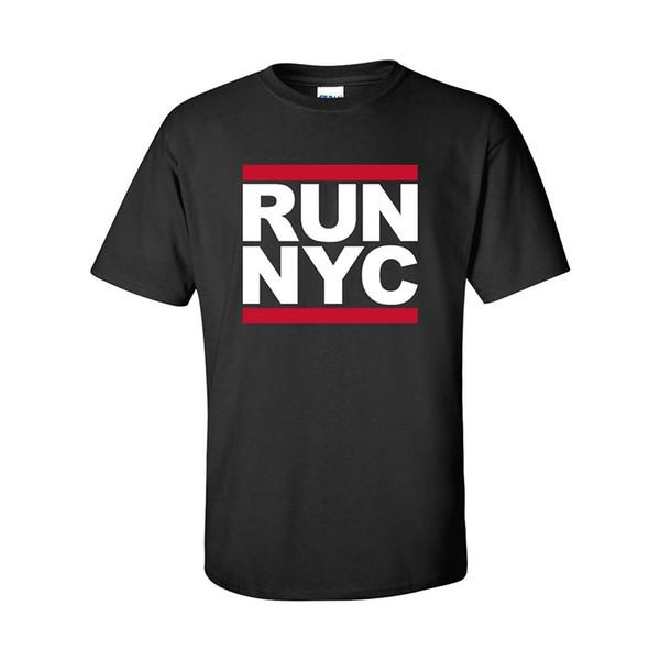 Нью-Йорк взрослых с коротким рукавом футболка в Черном