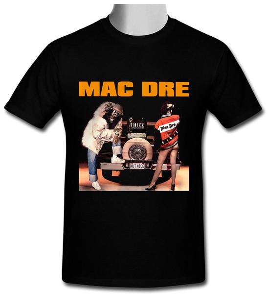 Mac Dre - Das Spiel ist Dick Top T-Shirt schwarz Größe S bis 2XL