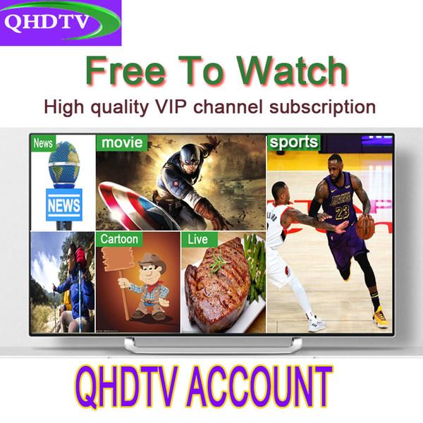 High quality QHDTV Arabic Sports Italy UK Germany 1300+ Europe IPTV Arabic Iptv Channels Streaming IPTV Account Apk Work on Android