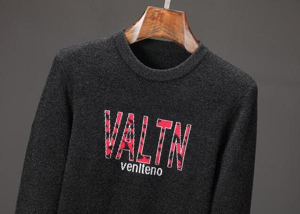 Moda Nuevo otoño invierno Hombre chaqueta de punto chaquetas Negro lana  mezcla Espesar Slim fit suéteres de punto ropa de hombre M-3XL d55cfdd351a