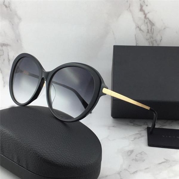New fashion designer women Victoria Beckham sunglasses 112 special round design popular generous style uv400 protection eyewear top quality
