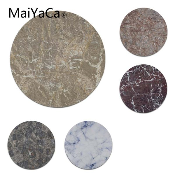 MaiYaCa Marble texture mouse pad gamer play mats Size for 22x22x0.2cm Gaming Mousepads