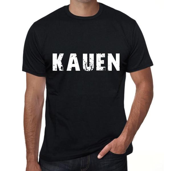 T-shirt kauen Herren Schwarz Geburtstag Geschenk 00548