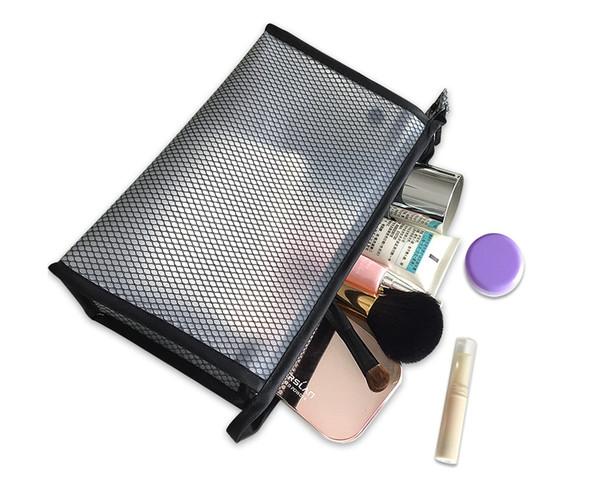 Viajes EVA Bolsas de Cosméticos Mujeres Transparente Cremallera Clara Bolsas de Maquillaje Organizador Baño de Lavado Maquillaje Bolsos Tote Caso