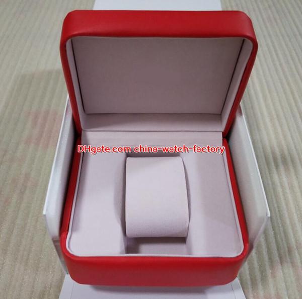 Reloj de alta calidad vendedor caliente Caja original Papeles Bolso de cuero para Planet Ocean Co-Axial Skyfall James Bond 007 8500 8900 Relojes