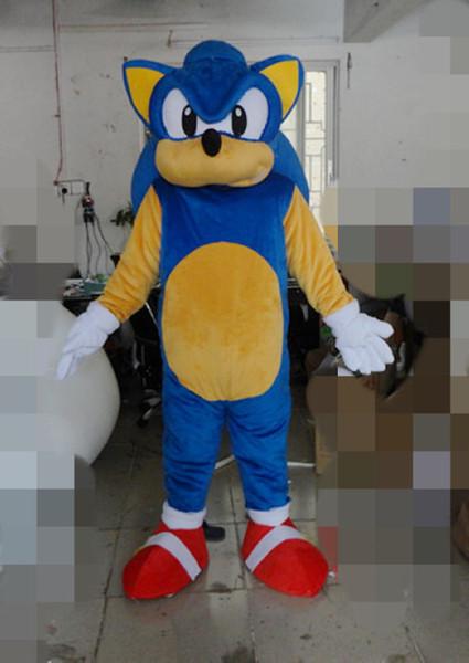 Qualité Nouveau Sonic Costumes De Mascotte De Noël Halloween Costume Fantaisie Costume Livraison Gratuite Sonic Le Hérisson