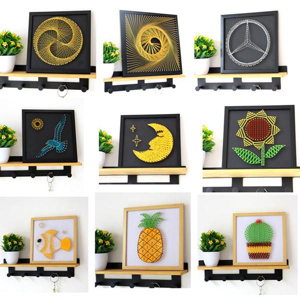 Acheter 13 Styles Bricolage Enroulement Dessin Dessin Animé Animaux Plantes Plantes Enfants Chambre De Bébé Fond 3d Peinture Murale Décoration De La