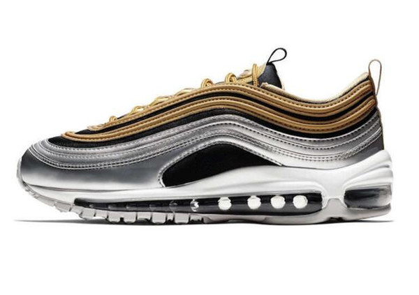 air max 97 nero e oro