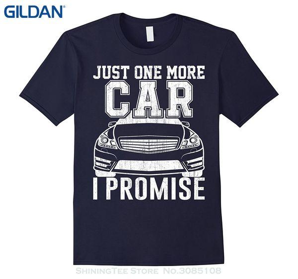 Remise en gros 2019 à manches courtes en coton T Shirts Homme Vêtements Just One More Car Mécanicien T Shirt