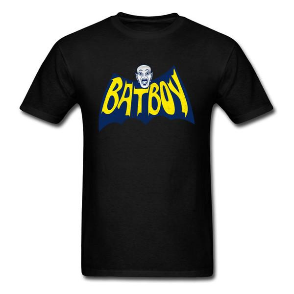 Halloween Morcego Menino T Camisas Para Homens Horror T Camisa Na Venda Hip Hop Tops Tees 100% Algodão Roupas de Impressão Vampiro Transporte da gota