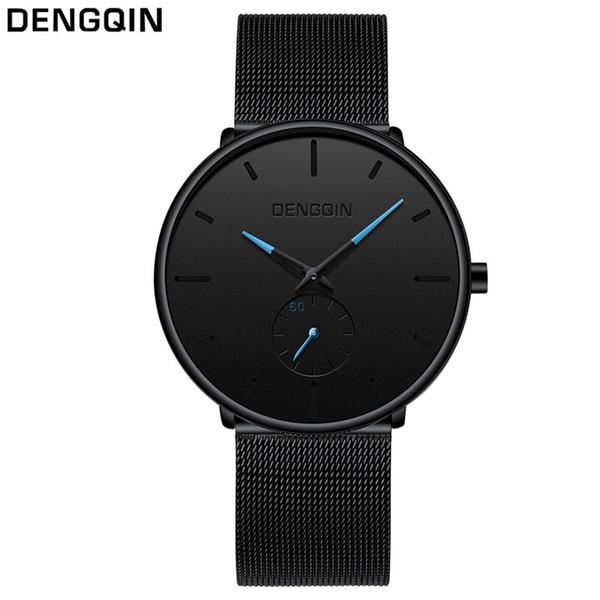 Men's Watch 2018 New Dengqin Women Men Stainless Steel Watch Quartz Bracelet Wrist Watches montre relogio