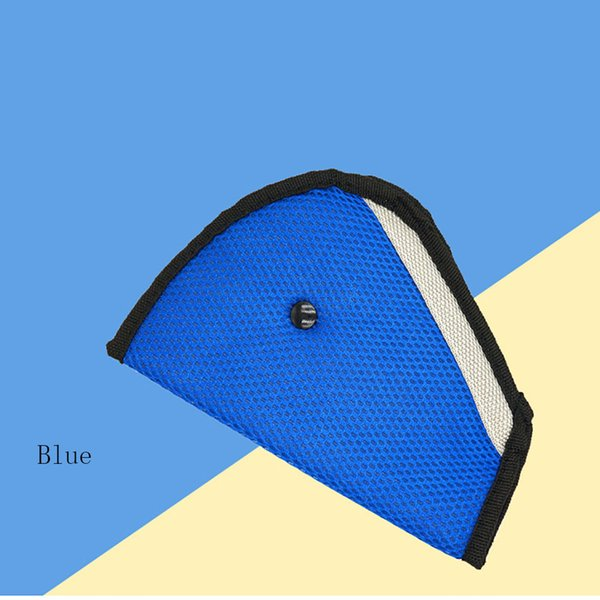 Universal Car Seat Belt Safety Covers Auto Harness Mesh Triangle Seatbelt Clip Booster Pad