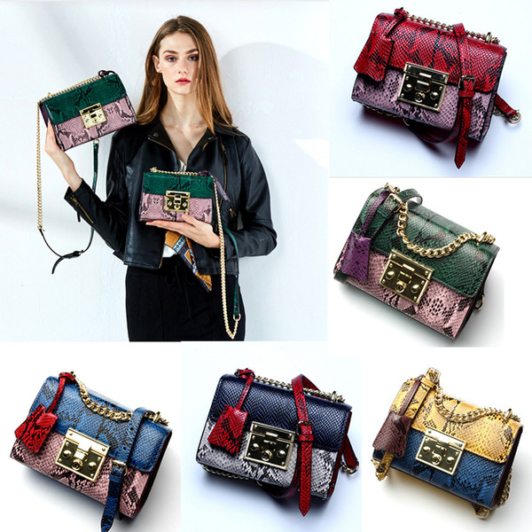Hot Sale designer handbags genuine Leather Bags Women Handbag Bag Shoulder Bags Lady Small Golder Chains Totes Handbags Bags 5 Color