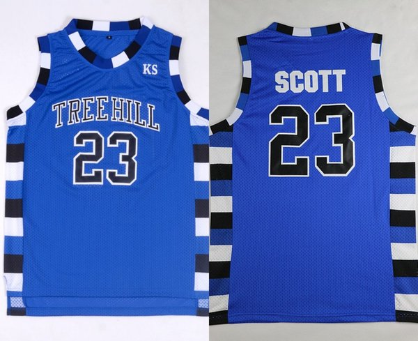 c3d6092b 2019 One Tree Hill Jersey Lucas Scott #3 Nathan Scott #23 One Tree Hill  Ravens Basketball Jerseys Costume Double Stiched IN STOCK From Felixtrade,  ...