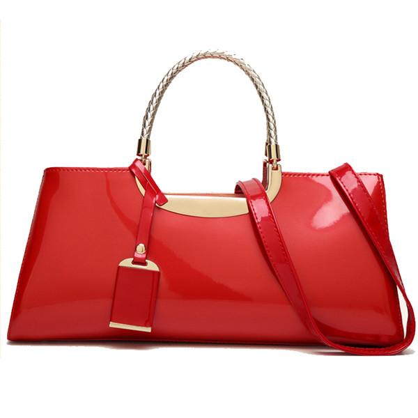 bags for women 2018 baguette Shoulder Bag fashion Women leather Handbag Luxury pink red purses and handbags evening clutch bag