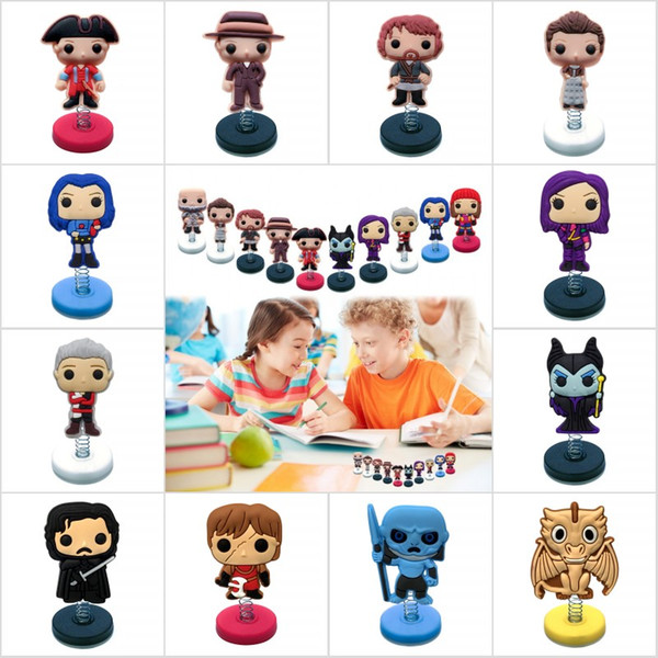 Outlander/Descendants/Game of Thrones Mix Cartoon PVC Standing Dolls Fashion Home/Office Decor Car Accessories Kids Toy Gifts Party Supply