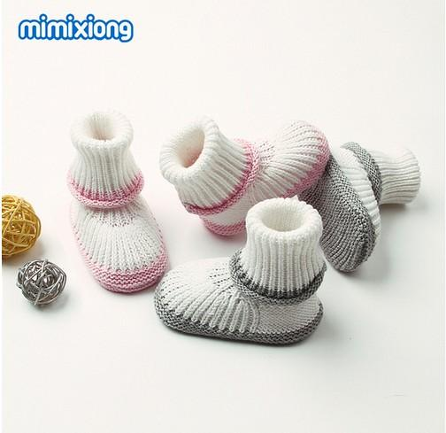 Spring Knitting Footwear For Newborns Boys Girl Booties Baby Shoes First Walkers Autumn Outerwear Toddler Shoes Infant Soft Sole